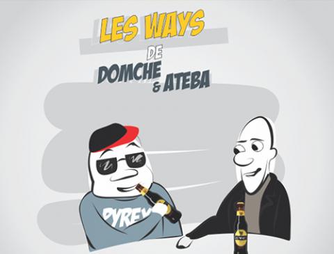 BD : Domche et Ateba – Au tourne-dos