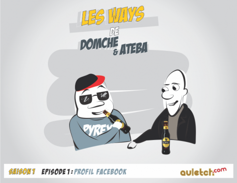 BD : les aventures de Domche & Ateba – S1 ep1 – Le profil facebook