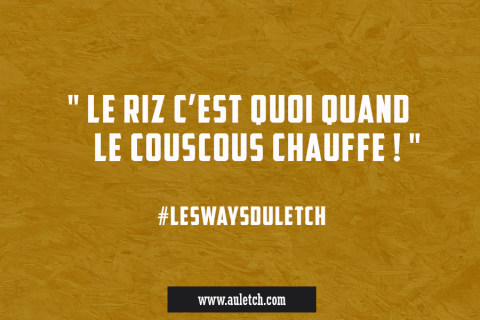 #LesWaysDuLetch : le riz c'est …