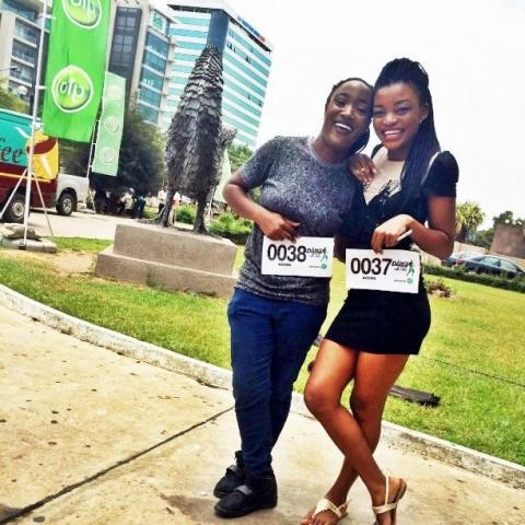 Deux danseuses camerounaises retenues pour la télé réalité << Dance With Peter >> (By P-Square)