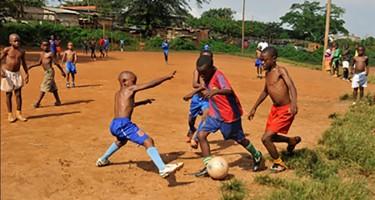 Un match de football