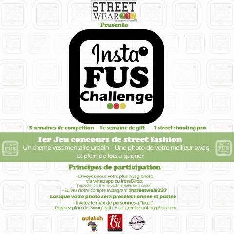 Streetwear237 lance 'Insta Fus Challenge', un jeu concours street fashion sur Instagram