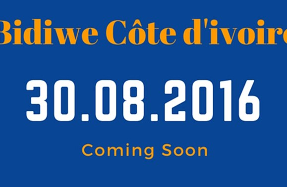Bidiwe à l'assaut de la Côte d'Ivoire dès le 30 Août 2016