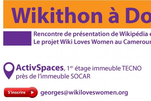 Rejoignez Wikipédia pour un wikithon le 06 Août 2016 à Douala