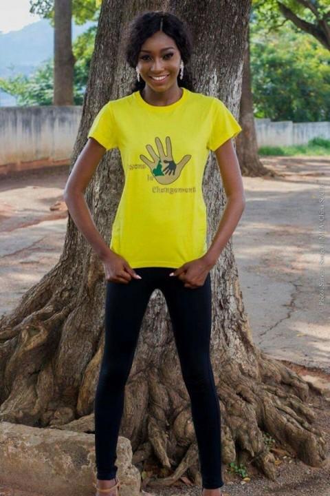 """[Interview] """"Que chacun d'entre nous soit le changement …"""" – Julie Nguimfack, Miss Cameroun 2016."""