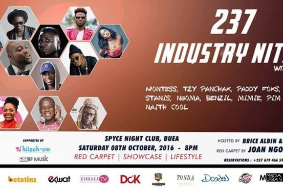 Rendez-vous le 8 octobre 2016 à Buea pour la 11eme édition du '237 Industry Nite'