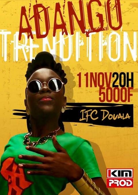 Adango Salicia Zulu en concert le 11 novembre 2016 à l'Institut Français de Douala
