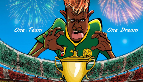 'OUI CAN', la BD dédiée à la Coupe d'Afrique des Nations féminine 2016