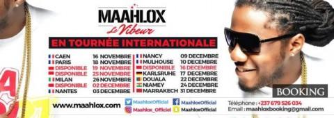 Maahlox Le Vibeur en tournée internationale dès le 12 novembre en Mbeng