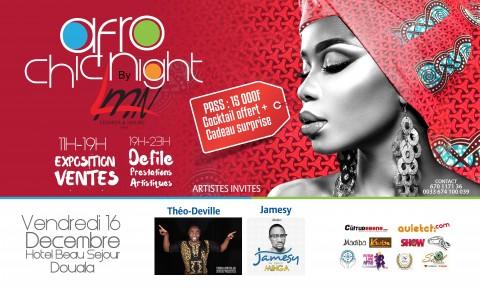 Afro Chic Night : Rendez-vous le 16 Décembre 2016 à l'Hôtel Beau Séjour