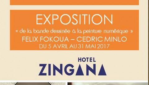 Felix Fokoua & Cédric Minlo exposent à Bafoussam