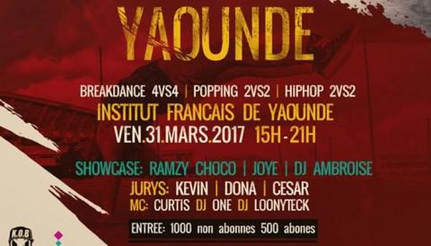 Keep On Breaking : La finale de Yaoundé aura lieu le 31 Mars 2017