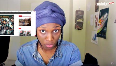 """Nouvelle vidéo de """"l'inconnue"""" : La youtubeuse revient subtilement """"dans la sauce"""""""