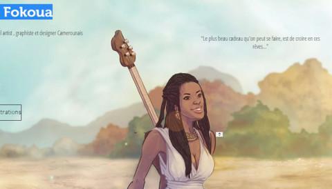 Plongez dans «Art of Felix Fokoua», la plateforme d'illustration 100% camerounaise