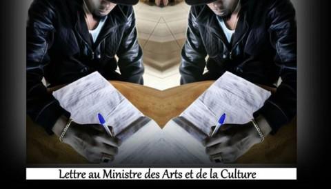 """Master Ocla adresse une """"Lettre au Ministre des Arts et de la Culture"""""""