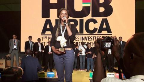 La Camerounaise Olivia Mvondo Boum ramène un précieux trophée du Hub Africa 2017