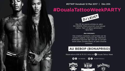 Ne manquez pas l'apothéose de la #DoualaTatooWeekParty au Bebop à Bonapriso
