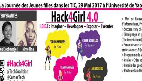 L'événement Tech 100% Ladies«Hack4Girl» débarque dans la ville de Yaoundé