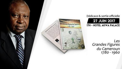 Ne manquez pas la dédicace du livre«Les grandes figures de l'histoire du Cameroun 1780-1960» de Samuel Nelle