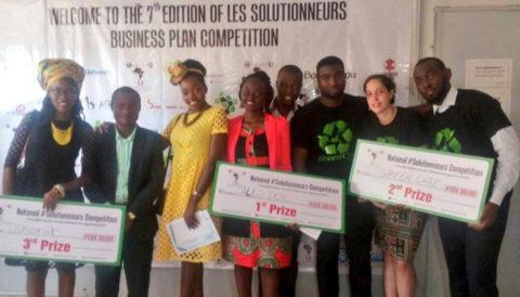 Trois startups récompensées au concours Harambe à Yaoundé