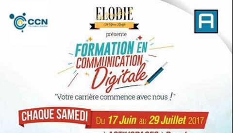 Plus quelques jours avant le début de la formation en communication digitale de «Les Marches d'Elodie»