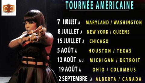 Coco Argentée dévoile les dates de sa tournée en Amérique