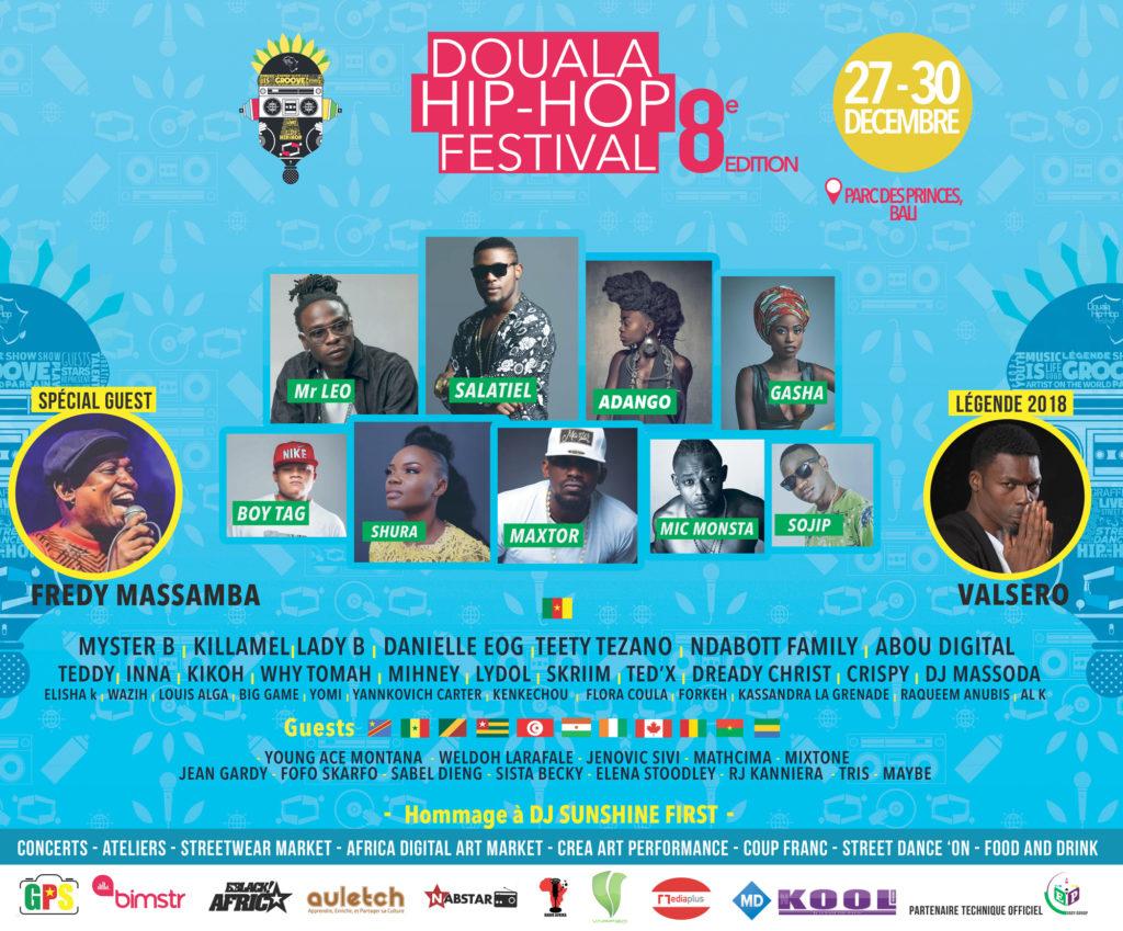 Douala hiphop festival 2018