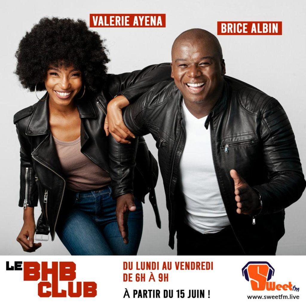 Valerie Ayena, Brice Albin, Sweet FM