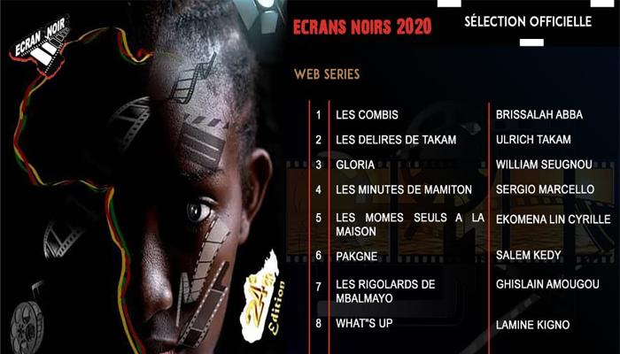 Ecrans Noirs, Webserie