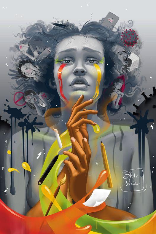 Cynthia Boulou, Djino art contest